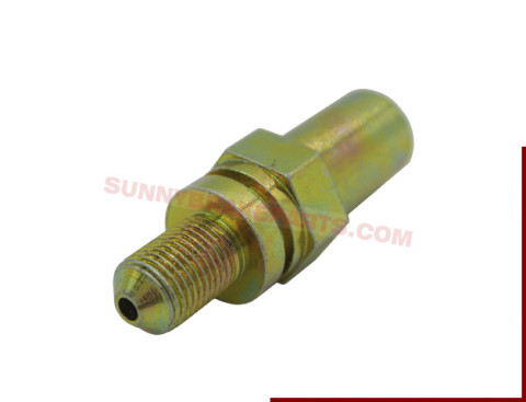 metric hydraulic fittings for brake system