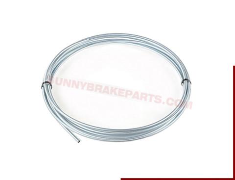 4.76mm OD Silver zinc brake line steel tubing coil