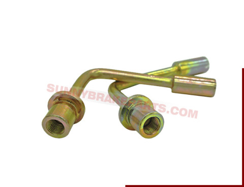 90 Dg Long Bent Block Brake Hose Female Fittings