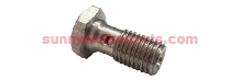 Hex 14mm 3/8-24 Banjo Bolt for Single Banjo Fitting