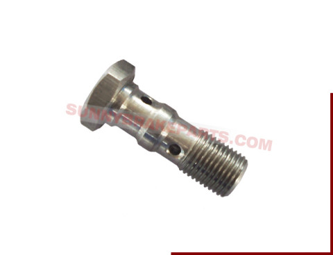 Hex 14mm Banjo Bolt for Two Stacked Banjo Fittings
